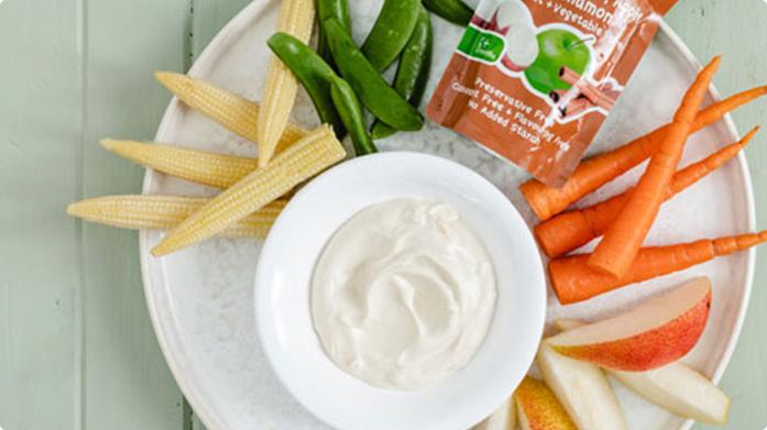 Cream Cheese Dip and Crudités